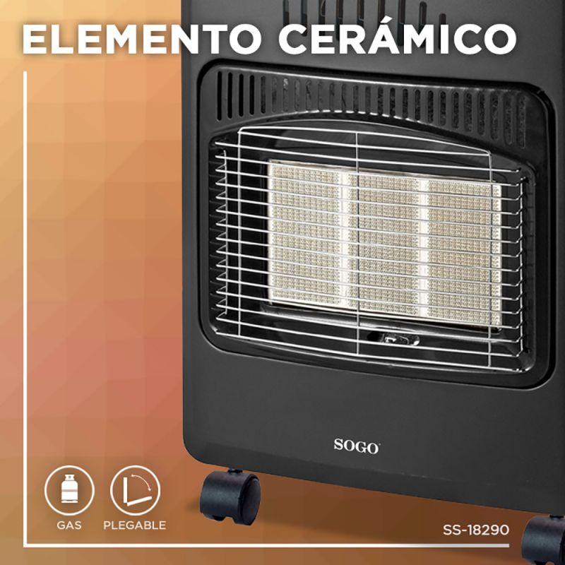 ESTUFA CERÁMICA DE GAS 4200W