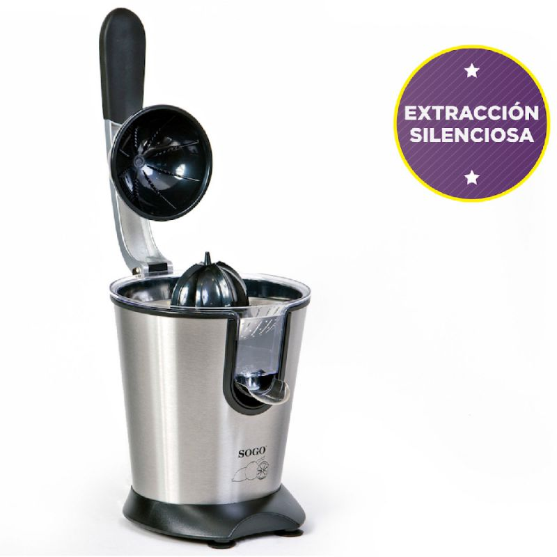 EXPRIMIDOR PROFESIONAL CON  ASA INTEGRADA 0.75L