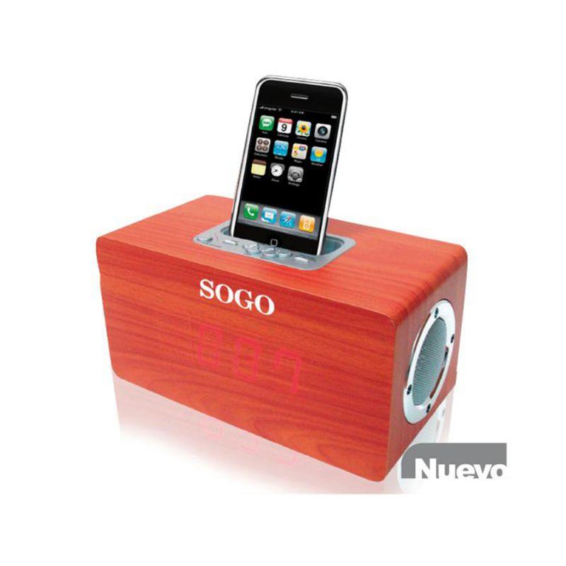 SOGO RADIO RELOJ DESPERTADOR SS8515 / 10 / P3