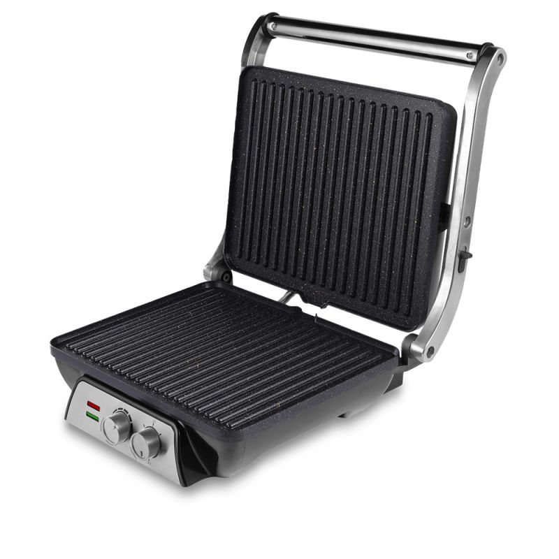 SANDWICHERA PRESS GRILL PARA 4 PORCIONES
