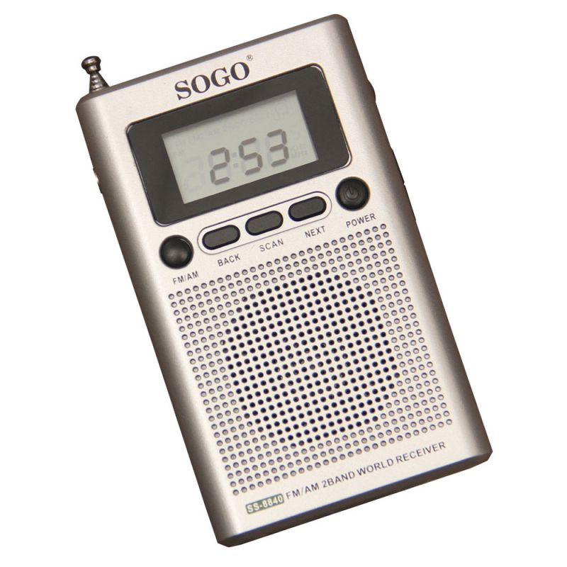 Radio Digital AM/FM de bolsillo