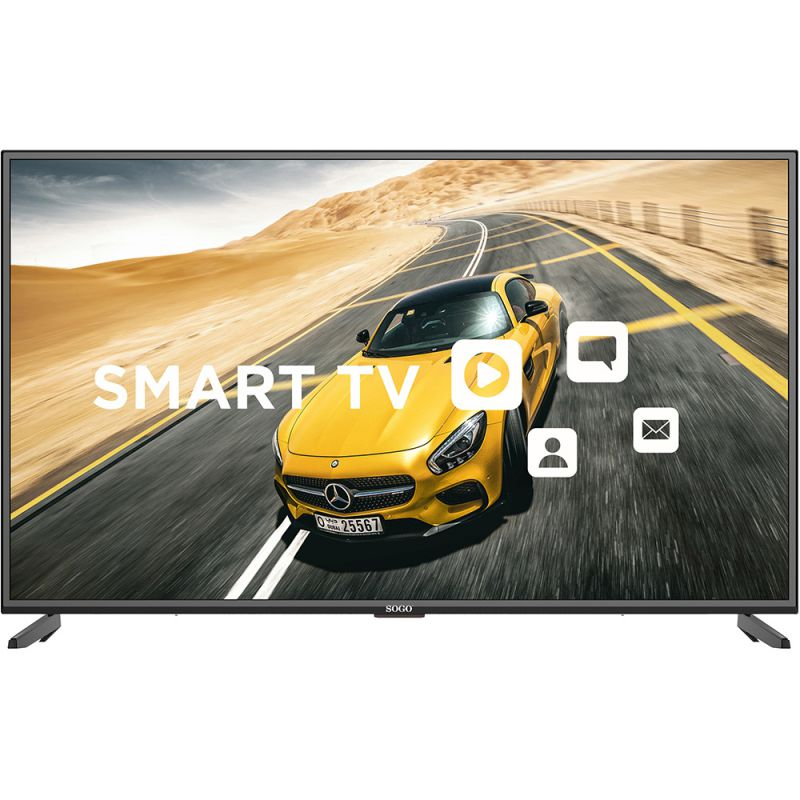 "SMART TV TELEVISOR 4K COLOR UHD LED 55"""
