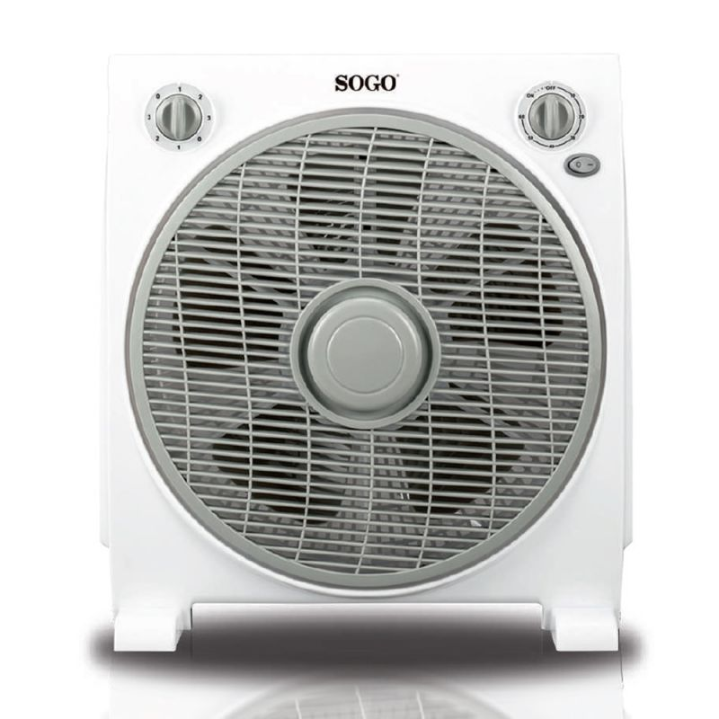 Ventilador Box de Sogo con 3 velocidades